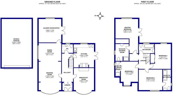 Floorplan - Homes Estate Agents